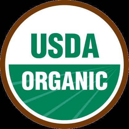 USDA Organic certifikat