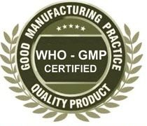 WHO GMP certified